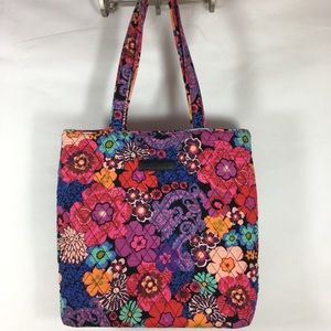 Vera Bradley Multi Color Quilted Tote Bag